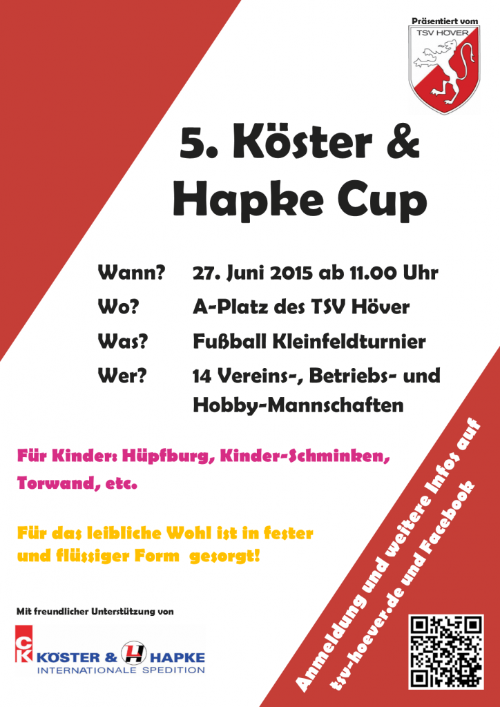 köster-hapke-cup_2015 Plakat